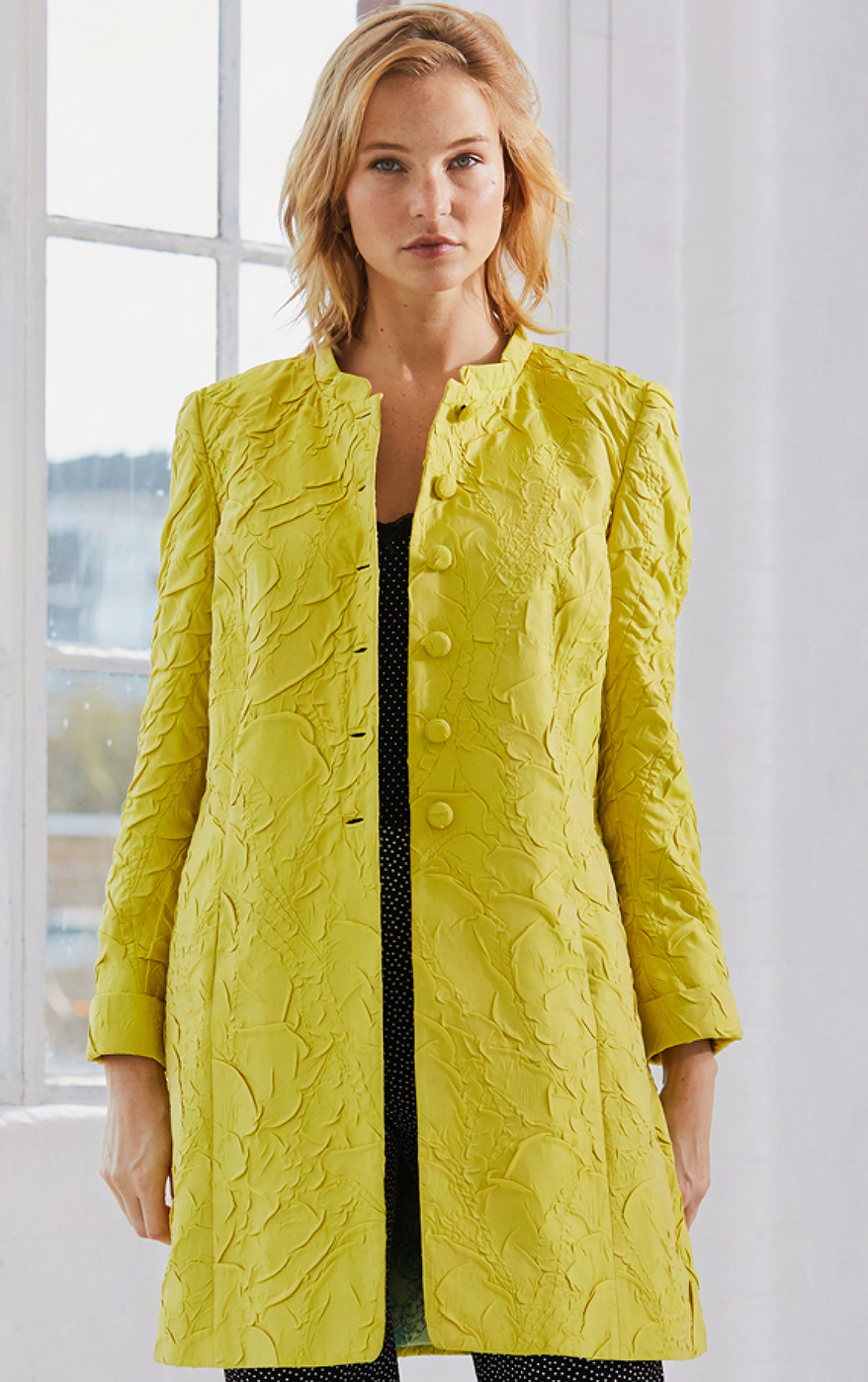 Saffron Coat