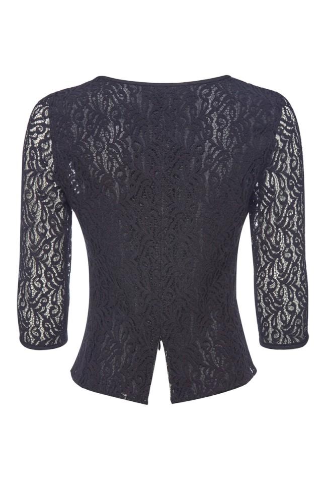 Lace Sweater Black - Caroline Charles Caroline Charles 36854d117